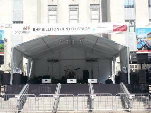 BHP Center stage